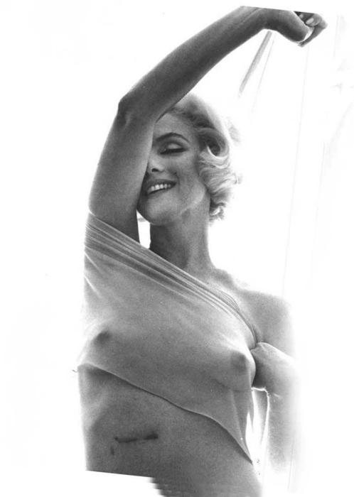 "Marilyn Monroe, ""The Last Sitting,"" 1962."