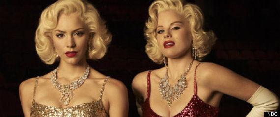 SMASH -- Season:1 -- Pictured: (l-r) Katharine McPhee as Karen Cartwright, Megan Hilty as Ivy Lynn --