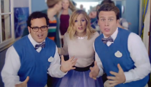 Jonathan Groff, Josh Gad & Kristen Bell Finally Reveal How They Made Frozen (In Musical Form, Of Course!) [VIDEO]